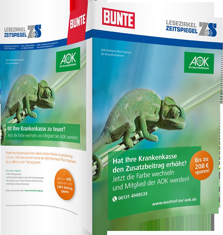 AOK Rheinland-Pfalz/Saarland - BUNTE
