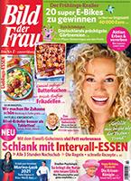 Werben mit der Zeitschrift Bild der Frau