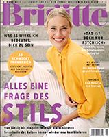 Werben mit der Zeitschrift Brigitte