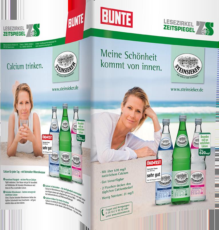 Steinsieker Mineralwasser - BUNTE