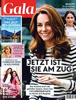 Werben mit der Zeitschrift Gala