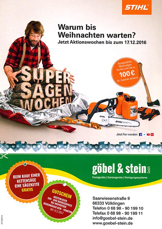 Beilage Göbel & Stein