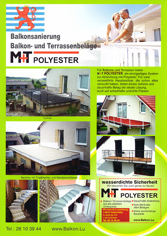 Beilage M+T Polyester