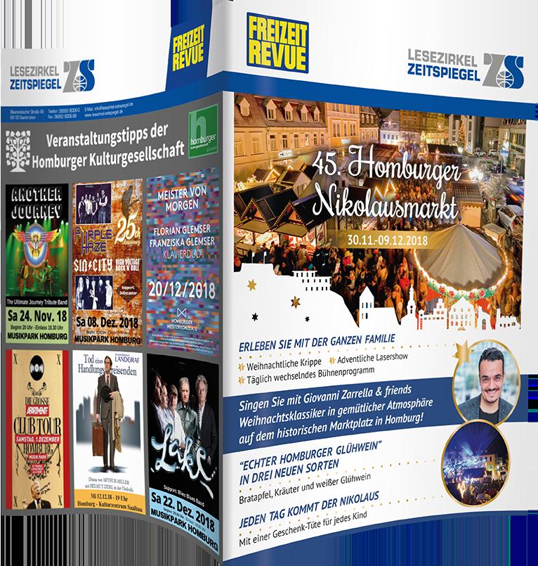 Nikolausmarkt Homburg - Freizeit Revue