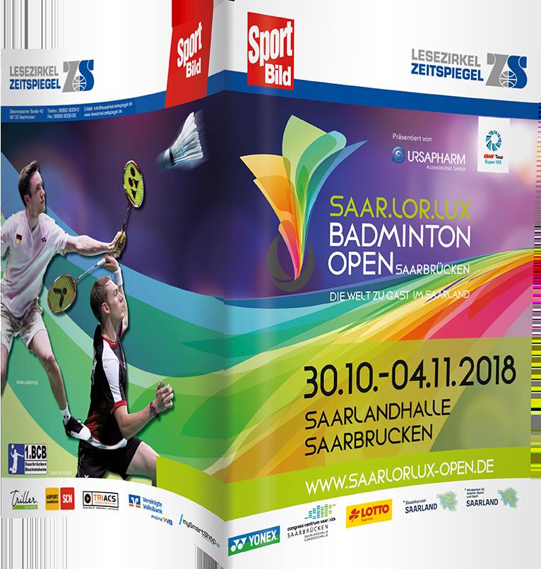 Saarlorlux Badminton Open - Sport Bild