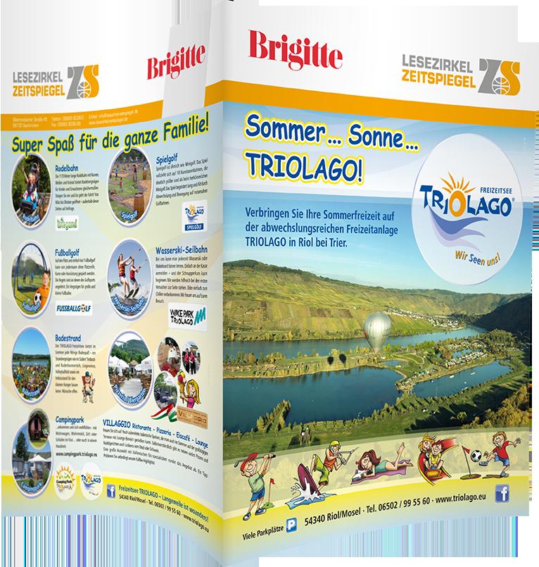 Top-Cover Freizeitsee Triolago - Brigitte