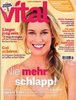 Werben mit der Zeitschrift Vital