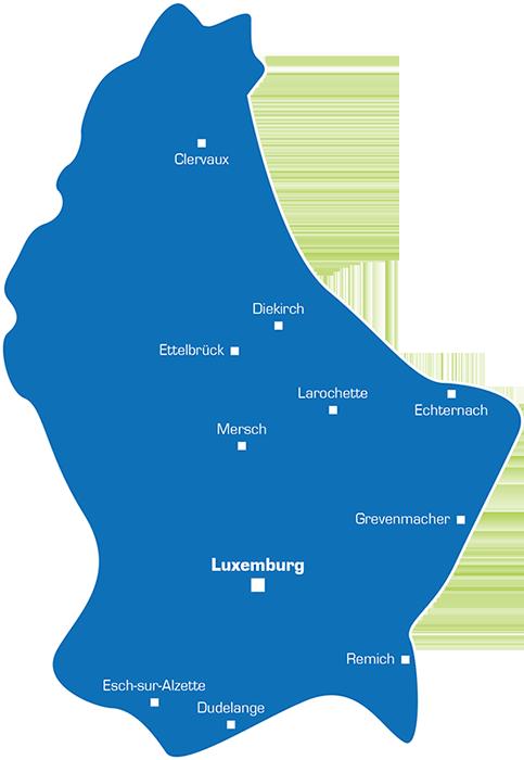 Werbegebiet Luxemburg