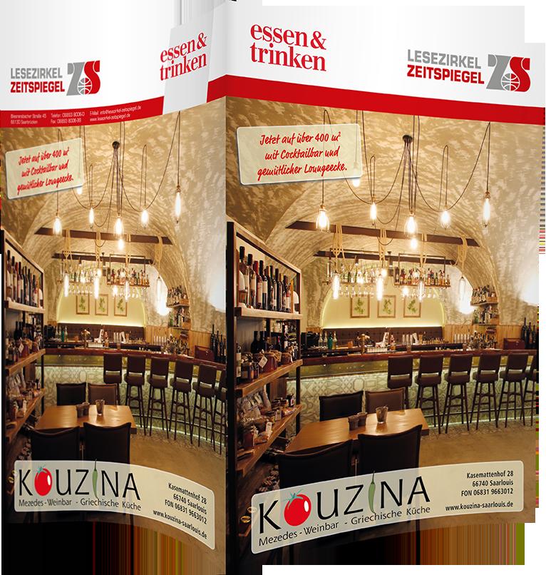 Top-Cover Restaurant Kouzina Saarlouis