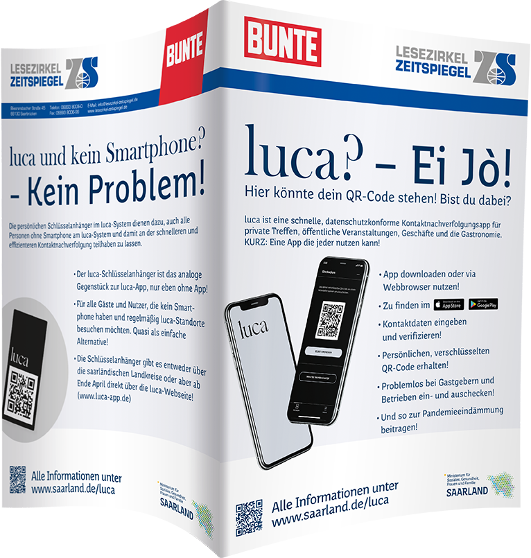 luca-App - BUNTE