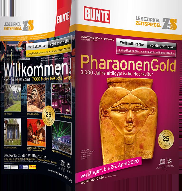 Völklinger Hütte PharaonenGold - BUNTE