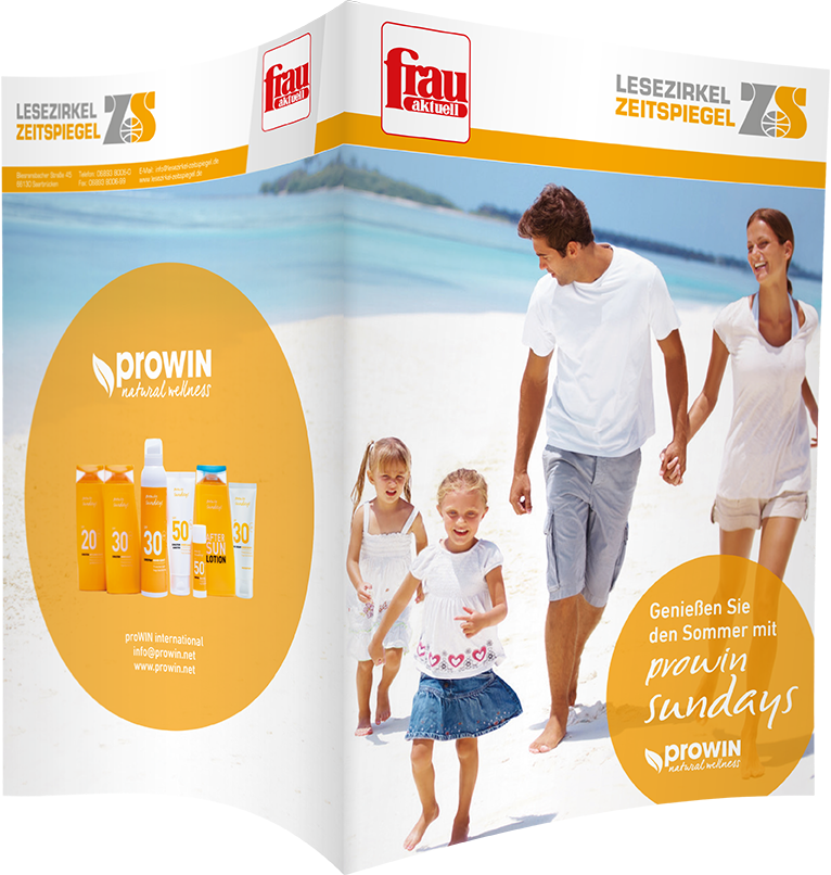 Top-Cover prowin - Frau aktuell