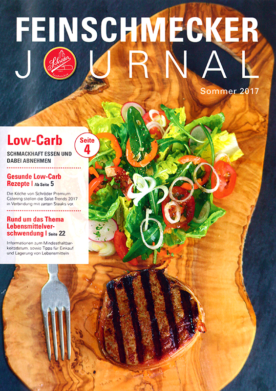 Feinschmecker Journal von Schröder Fleischwaren