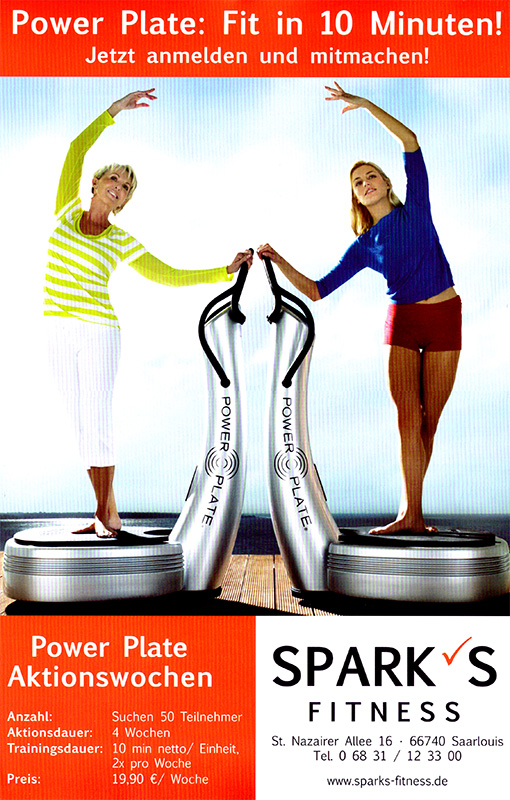 Beilage Sparks Fitness