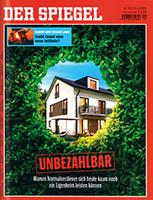 Werben mit der Zeitschrift Der Spiegel