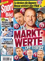Werben mit der Zeitschrift Sport Bild