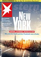 Werben mit der Zeitschrift stern